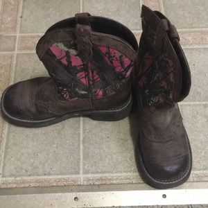 Justin Gypsy boots ,size 6.5 women's